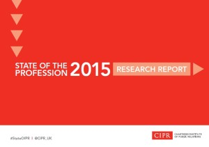 CIPR State of the Profession Report #StateOfPR