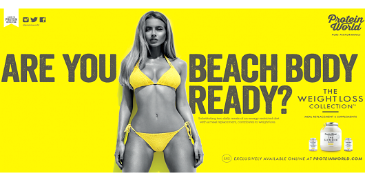 Protein World Social Media Advertising PR