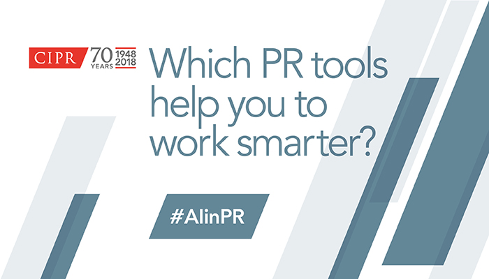 CIPR #AiPR Tools Stack Artificial Intelligence
